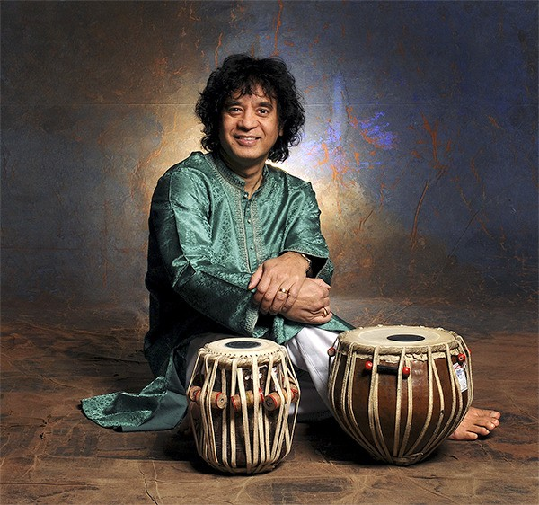 Indian music legend Zakir Hussain is playing Moore Theatre March 20